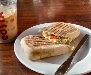 coffee, costa, and food image