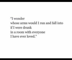 broken heart, crush, and drunk image