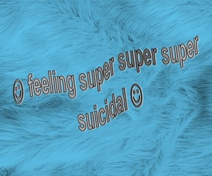 suicidal, suicide, and tumblr image