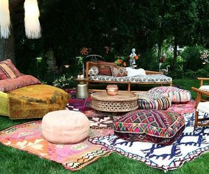cozy, outdoor, and outdoor living image
