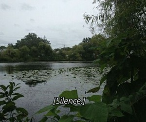 grunge, silence, and nature image