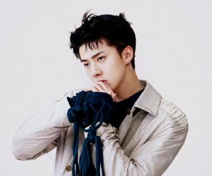 boy, exo, and model image