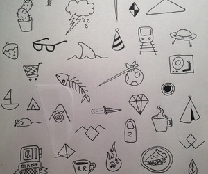 aesthetic, art, and doodles image