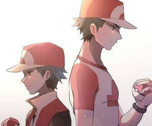 red, pokemon, and alola image