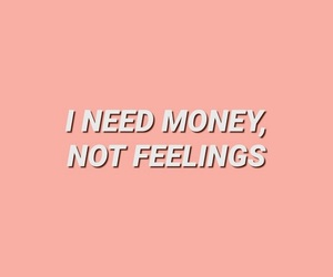 quote, money, and pastel image