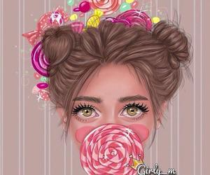 girly_m, candy, and drawing image