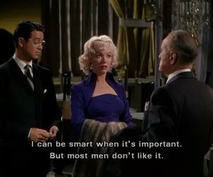 Gentlemen Prefer Blondes, Marilyn Monroe, and quotes image
