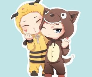 fanart, cute, and honey image