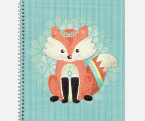 etsy, forest friends, and office supplies image