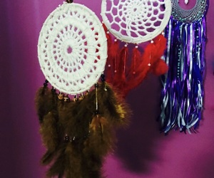 craft, dreamcatchers, and crochet image