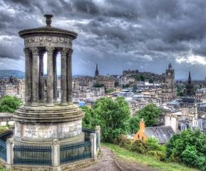 edinburgh, scotland, and carlton hill image