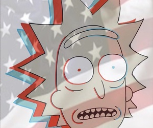 4th of july, adult swim, and america image