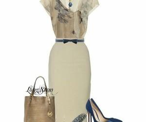 accesories, bag, and heels image