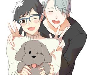 anime, anime boys, and yuri on ice image