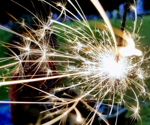 fourth of july and sparklers image