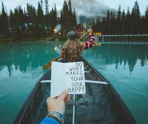 quotes, adventure, and lake image
