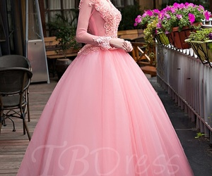 fashion, prom dress, and tbdress reviews image