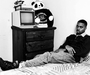 rapper, 90s, and nas image