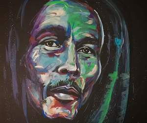 awesome, bob marley, and colourful image