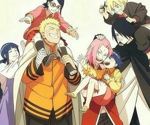naruto, boruto, and sasuke image