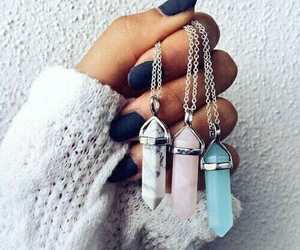 accessoires, fashion, and necklace image