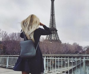 girl, hair, and paris image