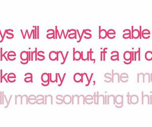 cry, quote, and boy image