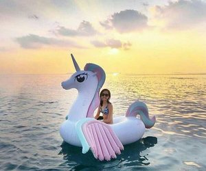 ocean and unicorn image