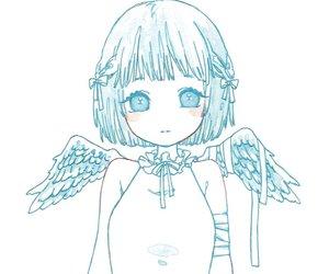 angel, лоли, and anime image