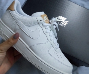 addict, AF1, and nike shoes image