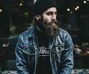 beard, alternative, and man image
