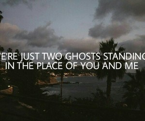 Lyrics, quotes, and two ghosts image