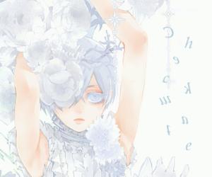 anime, ciel phantomhive, and beautiful image