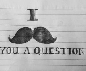 funny, lol, and mustache image