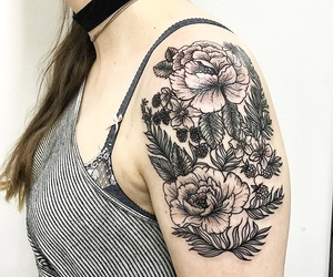 flower tattoo image