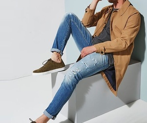 jeans, casual, and men's fashion image
