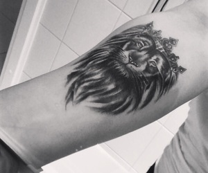 lion, Tattoos, and liontattoo image