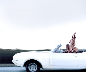 car, summer, and friends image