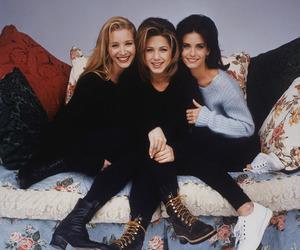 friends, Jennifer Aniston, and Lisa Kudrow image