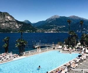 pool, hôtel, and sea image