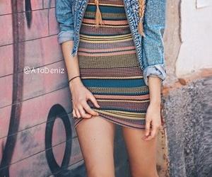 braid, sunglasess, and denim jacket image