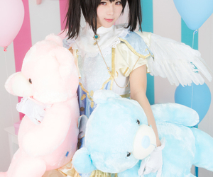 cosplay, girl, and pretty image