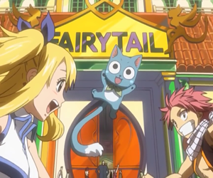 Lucy, natsu, and natsu dragneel image