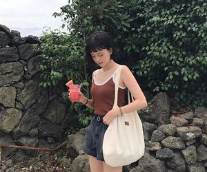 asian, drink, and nature image