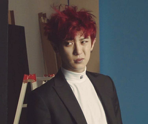 exo, red, and chanyeol image