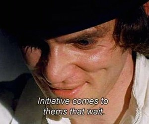 a clockwork orange and quote image