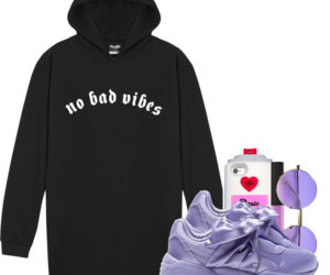 fashion, Polyvore, and purple image