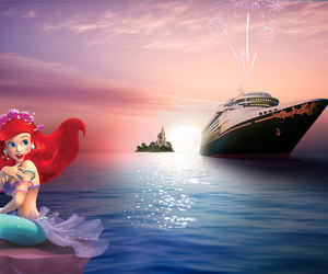cruise, disney, and the little mermaid image