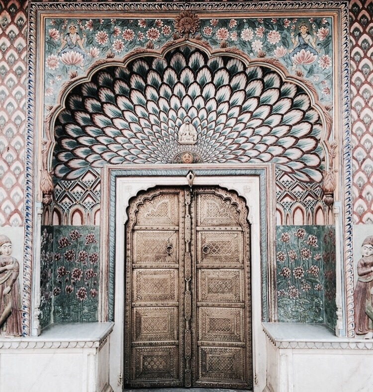 architecture, travel, and door image