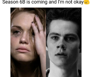 sad, series, and teen wolf image